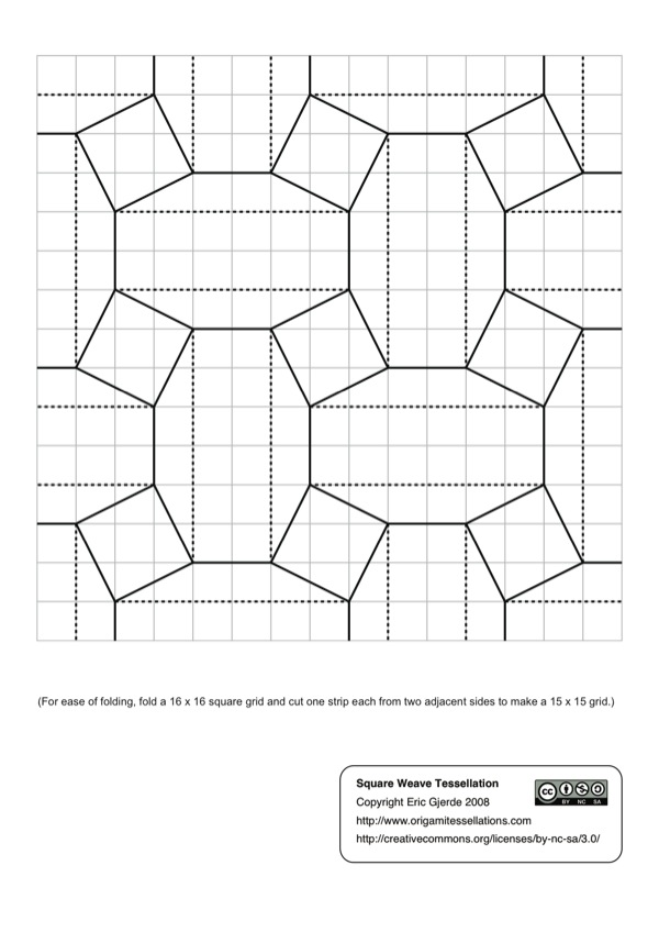 Polish Convention Diagrams Origami Tessellations