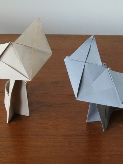 Fluffy the Cat - Origami