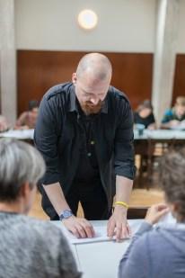 Eric instructing a Preliminary Course at the International Summer School Bernau