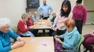2.11.15 Semi-Private Origami Workshop
