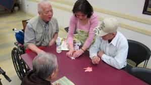 4.7.15 Origami Workshop, Senior Center, NYC