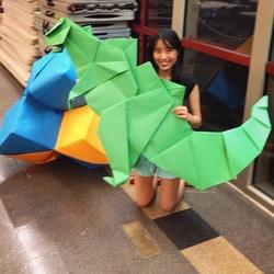 3badminton jeremy origami origamitree.com
