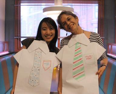 Jenny W. Chan (Origami Tree) & Leyla Torres (Origami Spirit)