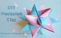 Moravian Star origami origamitree.com