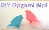 origami bird origamitree.com