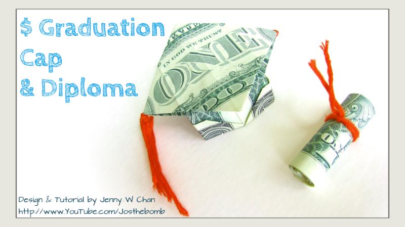 Graduation Origami | 449x800