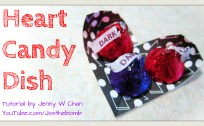 heart candy dish origami origamitree.com