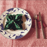 Napkin Folding Rose, Josefine S. | TUTORIAL: http://wp.me/p5AUsW-gb