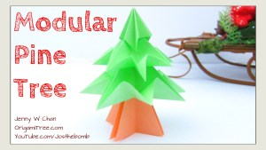 origami tree tutorial origamitree.com