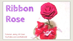 Ribbon Rose Tutorial | Jenny W. Chan Origami Tree