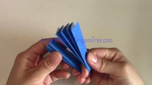 starburst flower origami origamitree.com