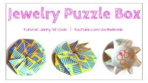 origami jewelry puzzle box origamitree.com