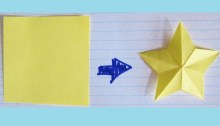 how to cut a star with one cut origami origamitree.com