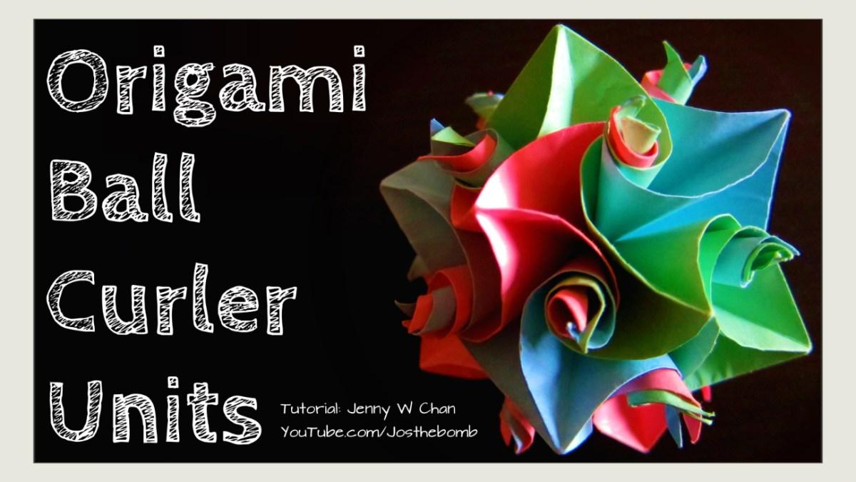 Origami 12 Curler Units - Cuboctahedron