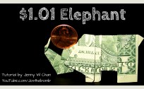 elephant money origami origamitree.com