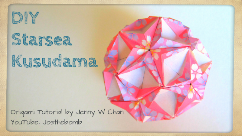 Origami Starsea Kusudama