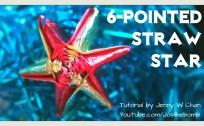 origami straw star origamitree.com