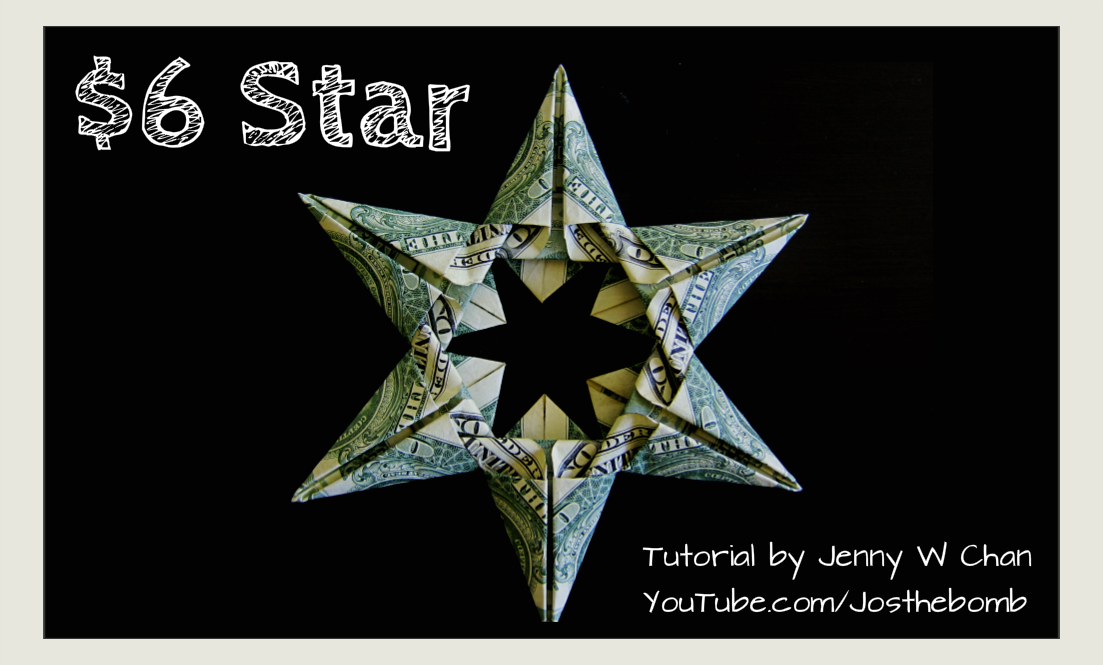 $6 Star - Money Origami