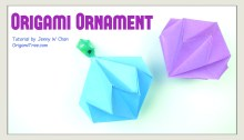 Origami Ornament Thumbnail OrigamiTree.com