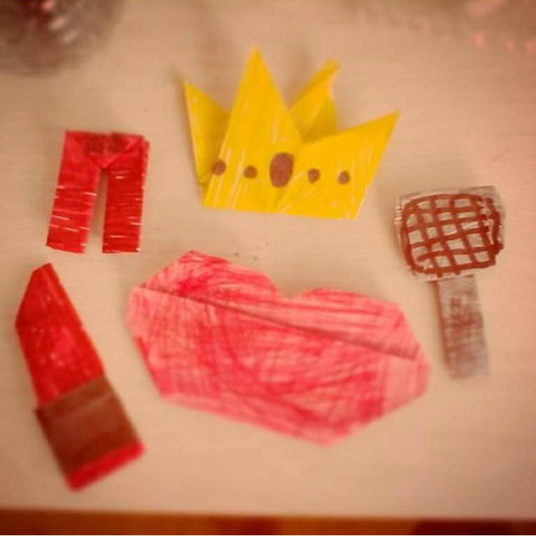 Miranda Sings Origami, chipotle.s_my_life (Instagram) | TUTORIAL: http://wp.me/p5AUsW-M1