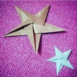 Origami Star, hanan_attawil (Instagram) | TUTORIAL: https://youtu.be/hfABLML72to