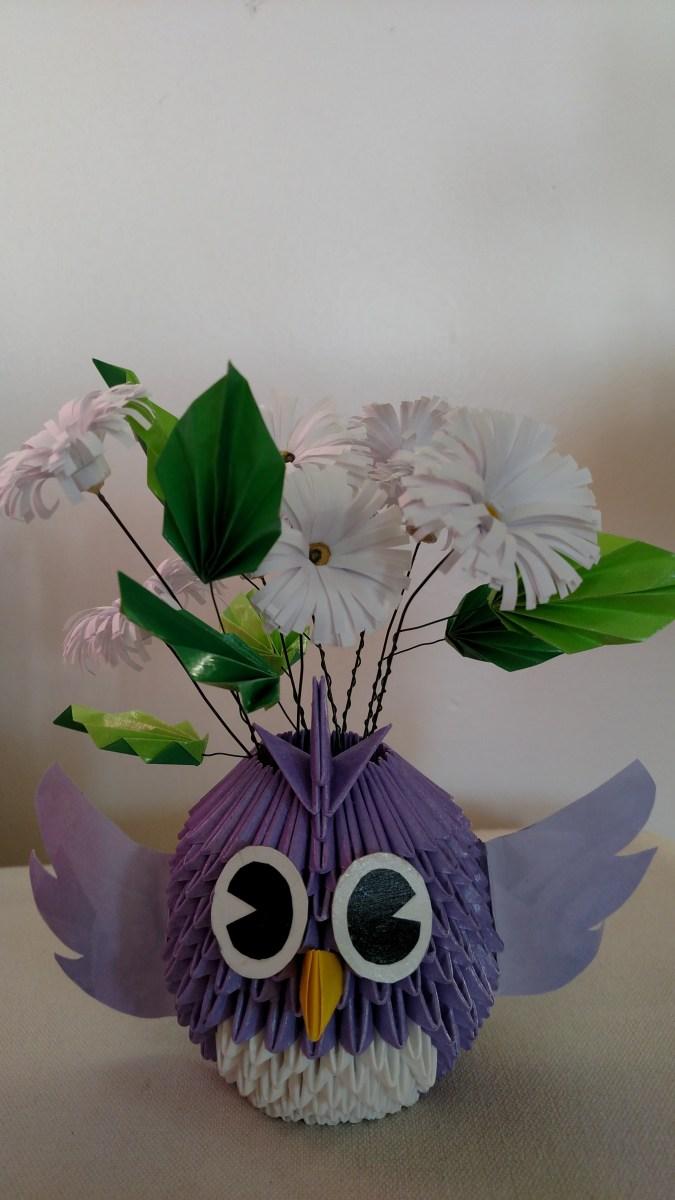 Origami Tweet Bird, Betty L. | TUTORIAL: http://wp.me/p5AUsW-5x