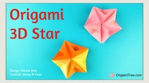 Origami Star Rachel Katz OrigamiTree Tutorial Thumbnail