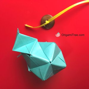 7 Origami Sonobe Baby Mobile Origami OrigamiTree by Jenny W Chan