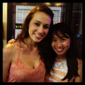 Colleen Ballinger (Evans) and Me