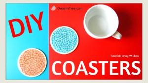 DIY Mod Podge Coasters Origami OrigamiTree