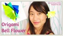 Origami Bell Flower