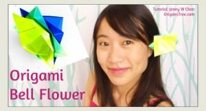 Origami Bell Flower Tutorial, Origami Flower Tutorial