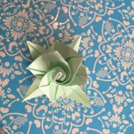 Origami Rose Tutorial - Little Rose Carlos Bocanegra
