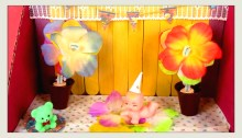 Kids party diorama thumbnail MBM Craft Challenge