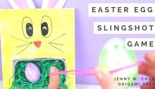 Easter Egg Slingshot Game - Jenny W. Chan Origami Tree