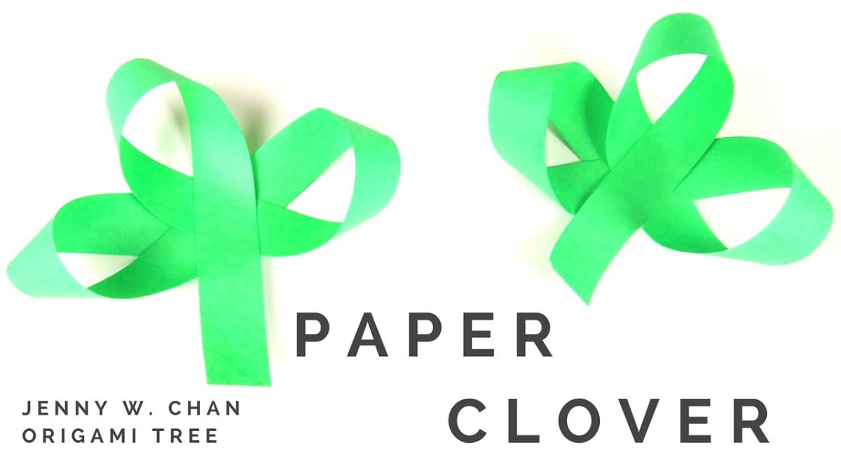 Paper Clover / Shamrock Tutorial