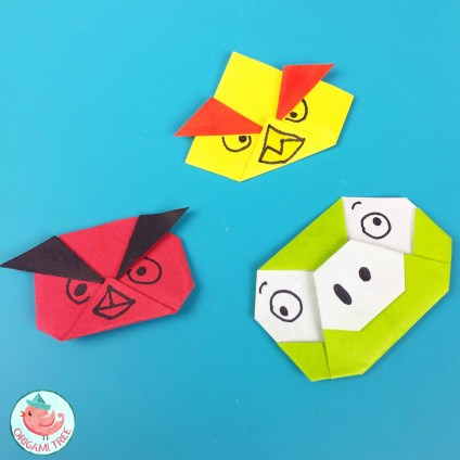 Origami Angry Birds by Jenny W. Chan