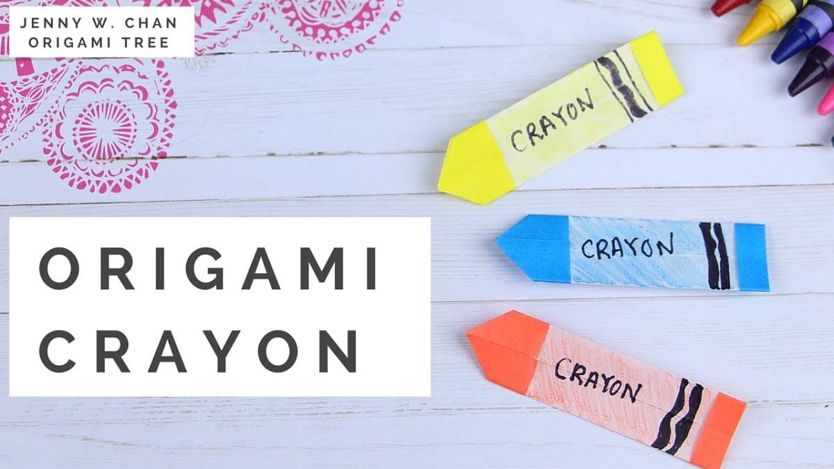 Origami Crayon