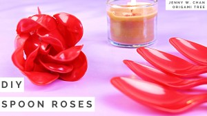 Spoon Roses Bouquet Tutorial