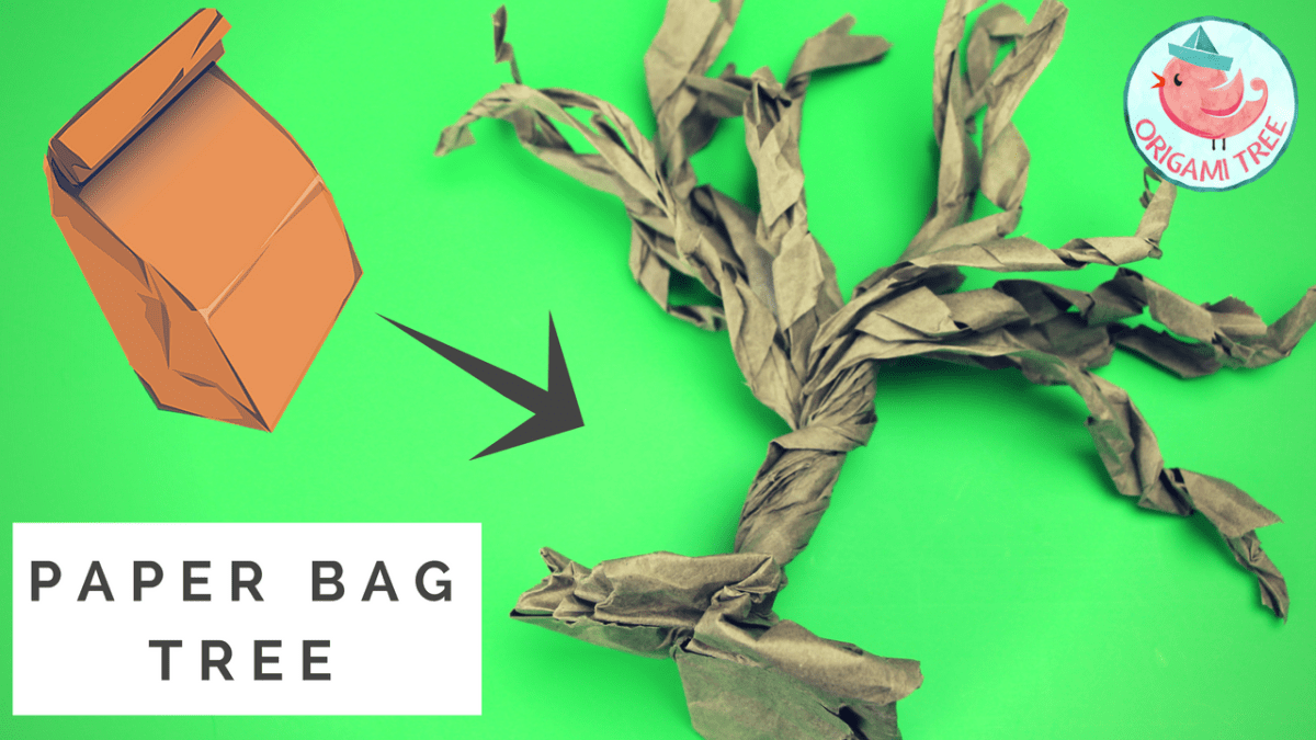 Paper Bag Tree (Quick & Easy!)