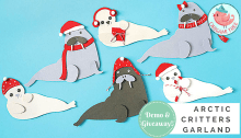 arctic-critters-garland