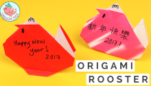 Origami Rooster Tutorial | Origami Tree
