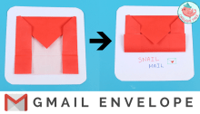 Origami Envelope Gmail App Badge