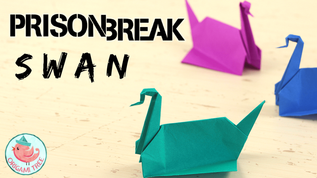 Prison Break Origami Swan Tutorial