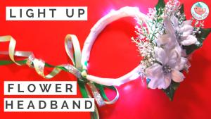 Light Up Flower Headband   Jenny W. Chan Origami Tree