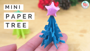 Mini Paper Christmas Tree | Jenny W. Chan - Origami Tree