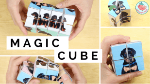 Transforming Magic Cube Tutorial | Jenny W. Chan Origami Tree