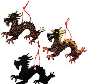Rainbow Scratch Off Dragons