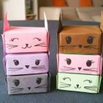 Origami Cat Box, Eou E. | TUTORIAL: http://wp.me/p5AUsW-Jh