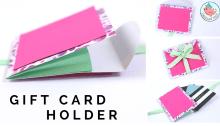 Expanding Gift Card Holder